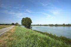 parkowy Piedmont po rzeki Turin valentino widok Fotografia Stock