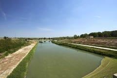 parkowy Piedmont po rzeki Turin valentino widok Obrazy Royalty Free