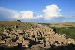 parkowy prowincjonału kamienia writing Zdjęcie Royalty Free