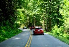 parkowy ruch drogowy Zdjęcie Stock