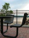 Parkowy stół Zdjęcie Stock