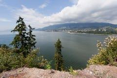 parkowy Stanley Vancouver Zdjęcie Royalty Free