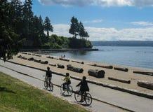 parkowy Stanley Vancouver Obraz Stock