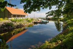 Parkowy Toila-Oru, Toila -, Estonia Fotografia Stock