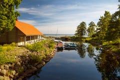 Parkowy Toila-Oru, Toila -, Estonia Obrazy Stock