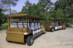parkowy tramwaj Zdjęcia Royalty Free