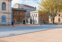 Parkowy wejście Obrazy Royalty Free