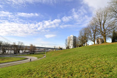 parkowy widok Zdjęcie Royalty Free