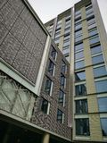 Parkpiazza Hotel in London lizenzfreie stockfotos