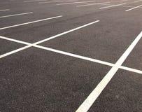 Parkplätze Lizenzfreies Stockbild