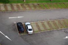 Parkplätze Stockbild