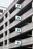 Parkplattform Stockfotos