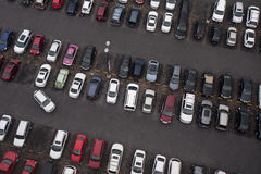Parkplatz Stockbild