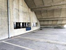 Parkplatz, im Freien Stockbild
