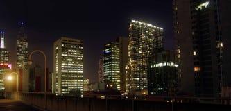 Parkplatz-Melbourne-Landesbibliothek Stockfoto