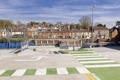 Parkplatz, Salisbury, Wiltshire Lizenzfreies Stockfoto