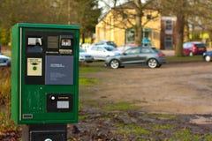 Parkplatzmaschine Lizenzfreie Stockbilder