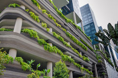 PARKROYAL hotel in Singapore Stock Fotografie