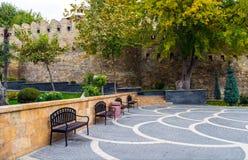Parks of Baku city Royalty Free Stock Image