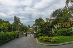 Parks of Baku, Governor's garden Royalty Free Stock Image
