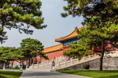 Parks of the Forbidden City or Gugong, Beijing, China Stock Photos