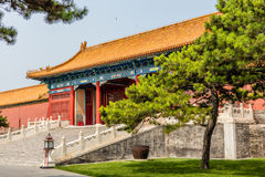 Parks of the Forbidden City or Gugong, Beijing, China Stock Images