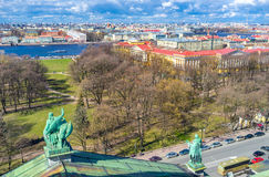 The parks of St Petersburg Royalty Free Stock Images