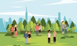 Parkscape με τα ζεύγη απεικόνιση αποθεμάτων