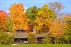 Parkschutz im Herbst Stockbilder