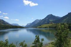 parku narodowego waterton obraz royalty free