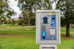 Parkuhr in Adelaide CBD Lizenzfreie Stockbilder