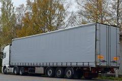 parkująca ciężarówka Obrazy Stock