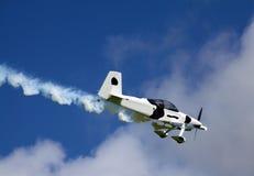 Parkujący na pas startowy Irlandczyka samolot Fotografia Royalty Free