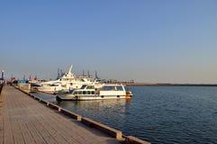 Parkujący morzem zdjęcie royalty free