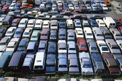 Parkujący Samochody Obrazy Royalty Free