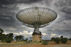 Parkuje radiowego teleskop Zdjęcia Stock