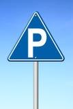 Parkuje znak ilustracja wektor