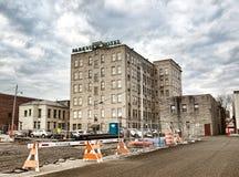 Parkview-Hotel Lizenzfreie Stockfotografie