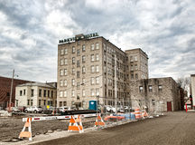 Parkview hotell Royaltyfri Fotografi