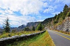 Parkway azul de Ridge foto de stock