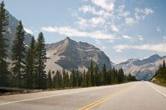 Parkway de Icefield, Alberta, Canadá Imagens de Stock