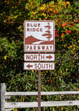 Parkway Directional Sign Royalty Free Stock Photos