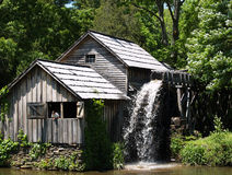 Parkway Mill. Here is a picture when the power went out on the old mill.  Whatever holds back the water must use electricity because the water was pouring out so Stock Photos
