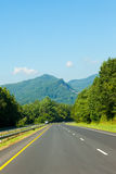 Parkway in North Carolina Royalty Free Stock Photography