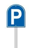 Parkzeichen lizenzfreie abbildung