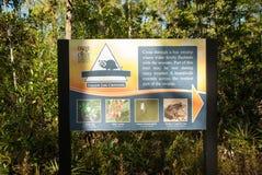 Parkzeichen Orlando stockfoto
