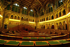 parlamentów siedzenia obraz royalty free