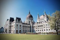 Parlament της Βουδαπέστης, Ουγγαρία στοκ εικόνες με δικαίωμα ελεύθερης χρήσης