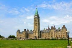Parlament av Kanada Royaltyfri Foto