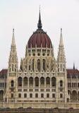Parlament av Ungern Royaltyfri Bild
